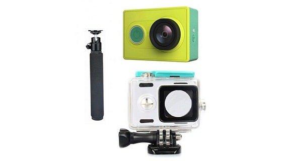 دوربین ورزشی شیائومی به همراه دسته نگه دارنده