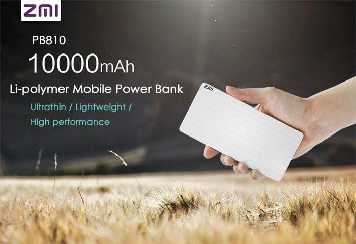 پاور بانک زد ام آی مدل ZMI PB810 ظرفیت 10000 میلی آمپر ساعت