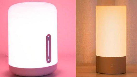 مقایسه چراغ روشنایی نسخه 1 و 2 شیائومی برند میجیا