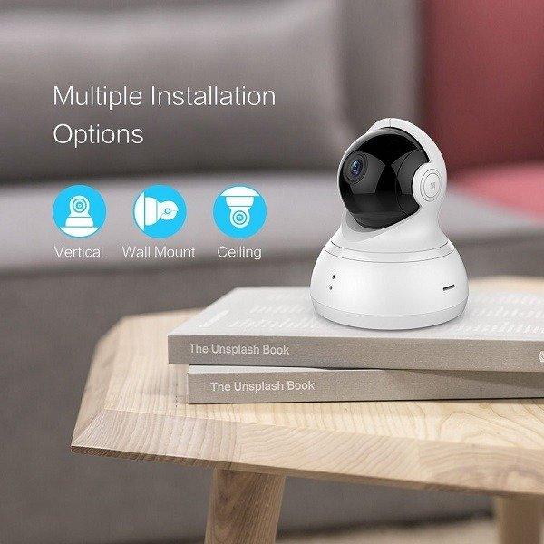 دوربین تحت شبکه 360 درجه مدل Yi Dome 720p