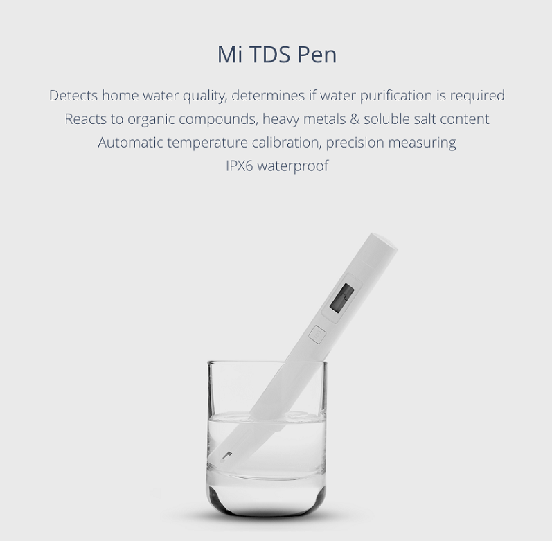 قلم Mi TDS تستر سلامت آب شیائومی