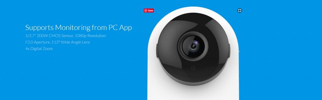 دوربین هوشمند تحت شبکه شیائومی مدل Yi 1080p Home