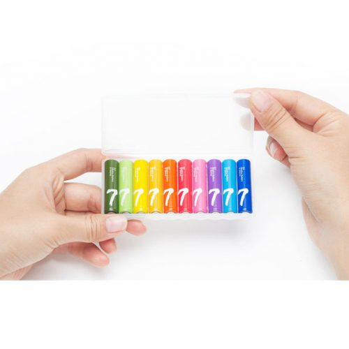 باتری نیم قلمی آلکالاین شیائومی مدل ZI7 بسته 10 عددی