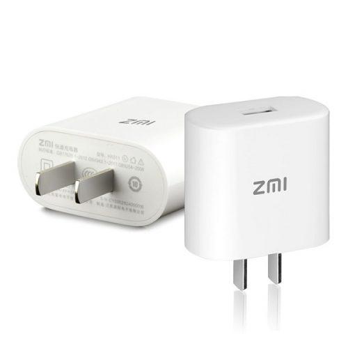 آداپتور شارژ سریع ZMI شیائومی با کابل USB Type-C