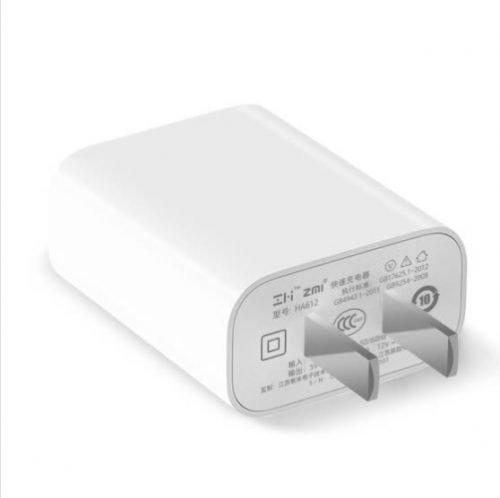 آداپتور شارژ سریع ZMI HA612 شیائومی با کابل USB Type-C