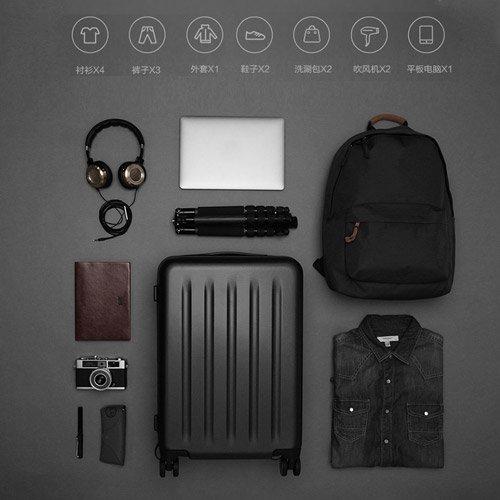 چمدان 90Points شیائومی مدل زیپدار