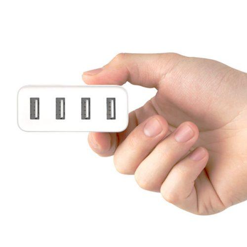شارژر USB شیائومی با 4 پورت