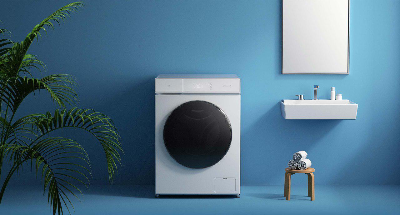 ماشین لباسشویی هوشمند شیائومی میجیا با گزینه ی خشک کن داخلی