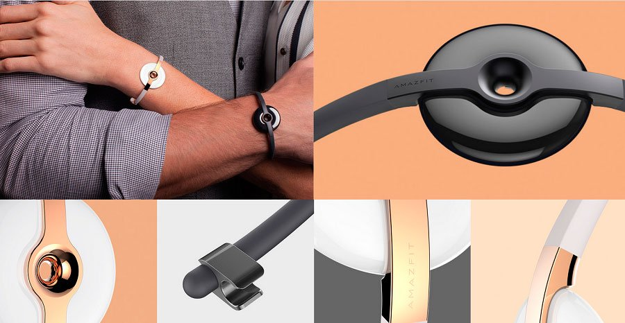دستبند سلامتی هوشمند Amazfit Moon Beam Frost شیائومی