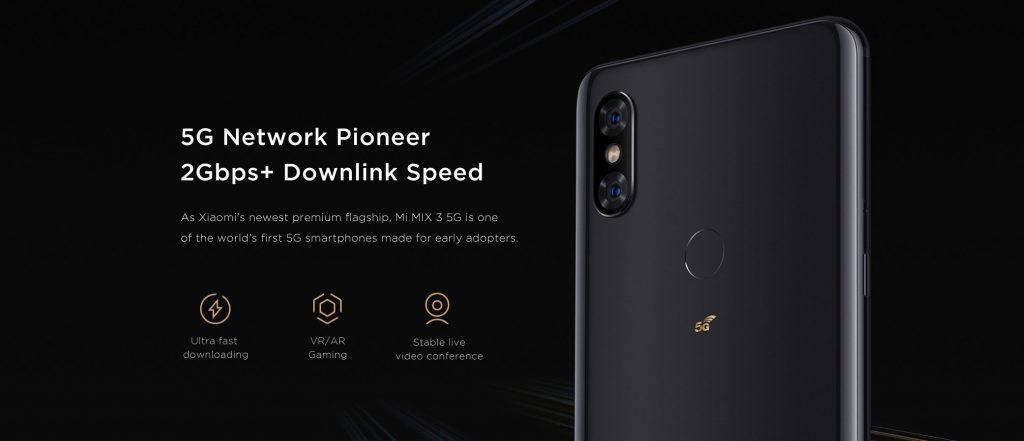 نسخه 5G شیائومی می میکس 3