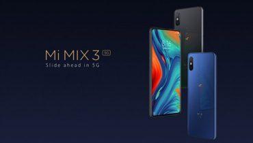 نسخه 5G شیائومی می میکس 3 رونمایی شد