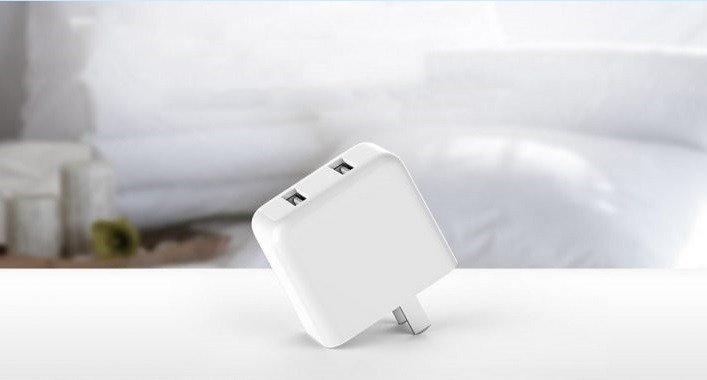 آداپتور شارژ سریع ZMI HA622 شیائومی با کابل USB Type-C دو پورت