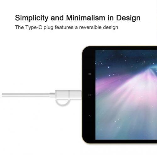 کابل تبدیل میکرو USB به تایپ سی زد ام آی مدل ZMI AL501