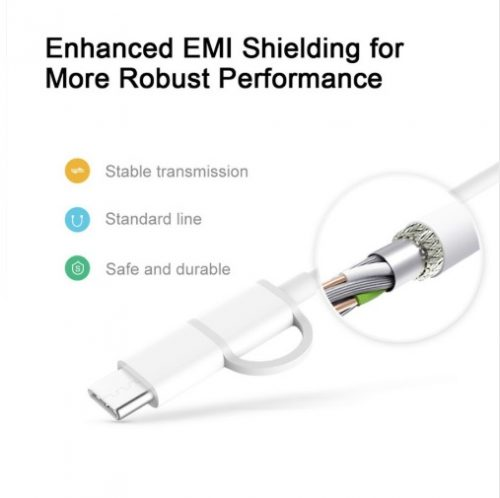 کابل میکرو USB به تایپ سی مدل ZMI AL501