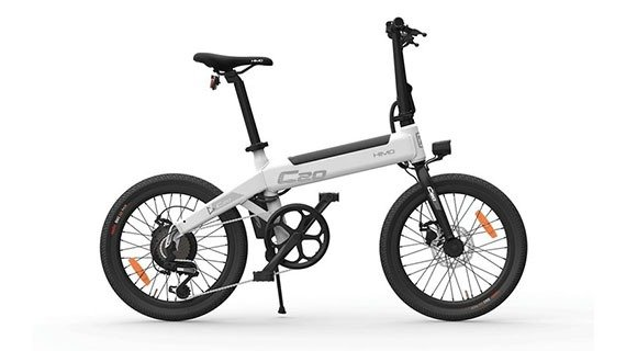 شیائومی از دوچرخه الکتریکی Himo C20 پرده برداشت