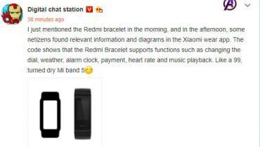ویژگی های برجسته Redmi Band