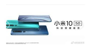 تصاویر جدید Mi 10 و Xiaomi Mi 10 Pro