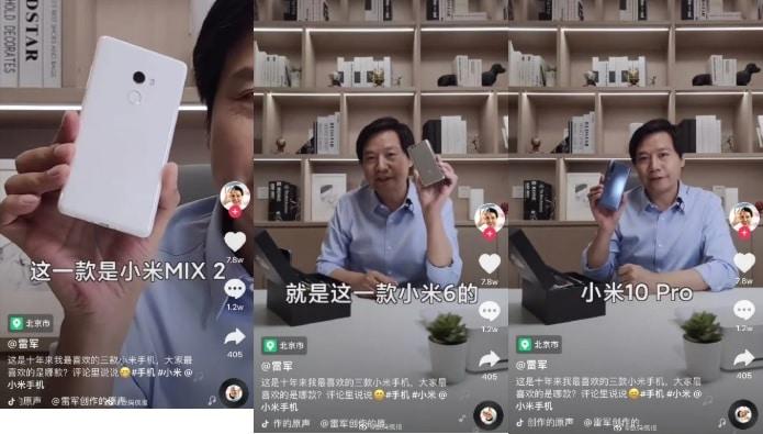 لی جون مدیرعامل شیائومی و معرفی 3 گوشی مورد علاقه خود