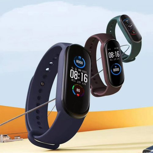 دستبند سلامتی شیائومی مدل می بند 5 ( Mi Band 5 )