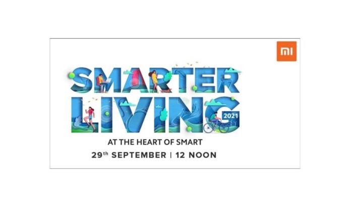 شیائومی هند و رویداد Smarter Living 2021 را برای 29 سپتامبر