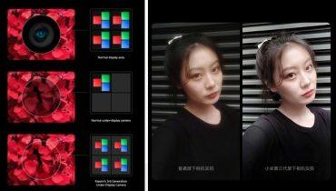 گوشی هوشمند شیائومی با دوربین مخفی در سال 2021