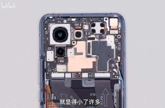 اجزای داخلی گوشی شیائومی Mi 11
