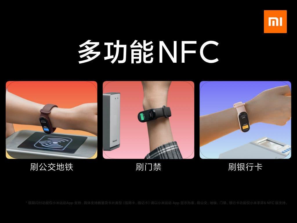می بند 6 NFC